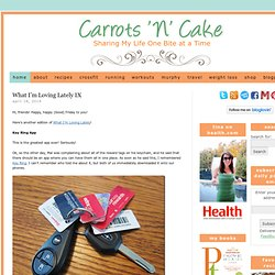 Carrots 'N' Cake - A Blog Devoted to a Healthy Balance