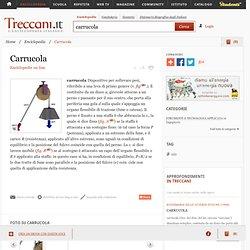 Carrucola nell'Enciclopedia Treccani