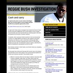 Cash and carry - Reggie Bush Investigation