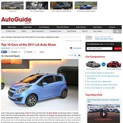 Top 10 Cars of the 2011 LA Auto Show