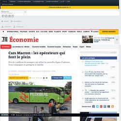 Cars Macron : les opérateurs qui font le plein