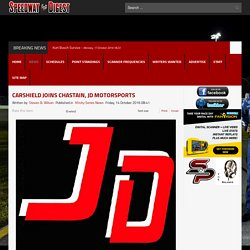 CarShield Joins Chastain, JD Motorsports