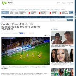 Carsten Kammlott strzelił najpiękniejszą bramkę sezonu 2015/16?