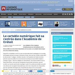 Le cartable numérique fait sa rentrée dans l'Académie de Créteil