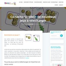 Cartacharis : plein de nouveaux jeux à télécharger