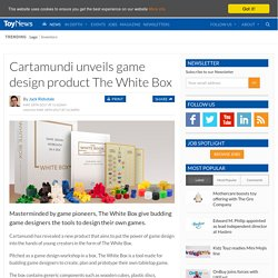 Cartamundi unveils game design product The White Box