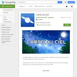 Carte du Ciel – Applications sur GooglePlay