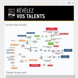 Carte des circuits - Révélez vos talents
