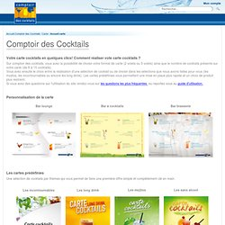 carte cocktail
