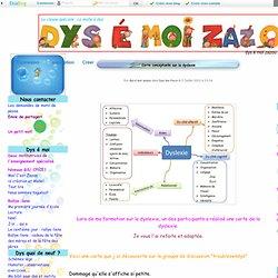 Carte conceptuelle sur la dyslexie