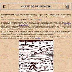 Carte de Peutinger