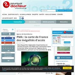 PMA : la carte de France des inégalités d'accès