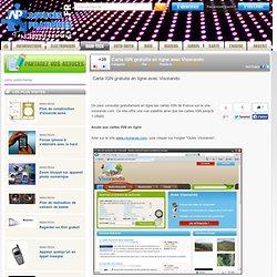 Carte IGN gratuite en ligne avec Visorando