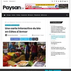 PAYSAN BRETON 18/09/14 Côtes d'Armor (22) Une carte interactive du bio en Côtes d'Armor.