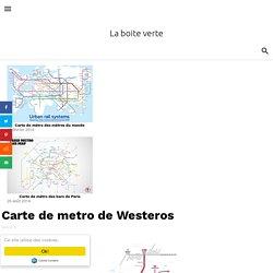 Carte de metro de Westeros