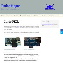 Carte PIXL4
