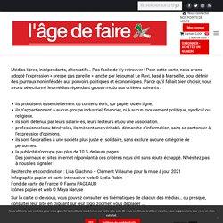 """Carte de la """"presse pas pareille"""" - Le site du journal L'age de faire"""