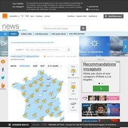 Prévisions météo à Angers