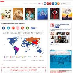 La Carte du Monde des Réseaux Sociaux – Décembre 2010