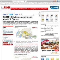 CARTE. Si la Seine continue de monter à Paris…