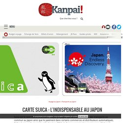Carte Suica : l'indispensable au Japon