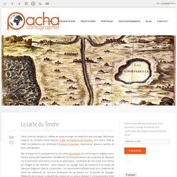 La carte du Tendre - Pacha cartographie