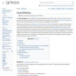 Cartel Phœbus