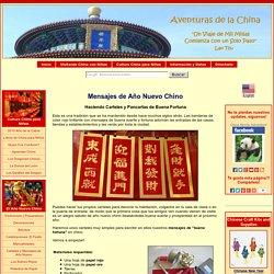 Carteles y Mensajes de Año Nuevo Chino