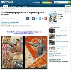 Carteles de propaganda de la segunda guerra mundial