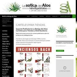 Carteles para Tiendas - Blog La Botiga del Aloe