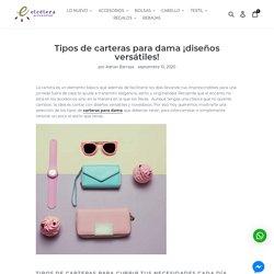Tipos de carteras para dama ¡diseños versátiles! – Etcétera Accesorios