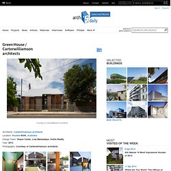 Green House / Carterwilliamson architects