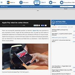 Apple Pay rebat les cartes bleues