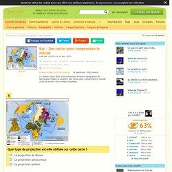 Quizz Bac : Des cartes pour comprendre le monde - Quiz Geographie, Monde