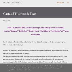 Cartes d'Histoire de l'Art