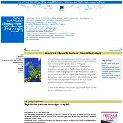Les cartes et bases de données : représenter l'espace