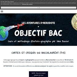 CARTES ET CROQUIS DU BACCALAURÉAT (T°S) - YANN BOUVIER
