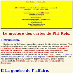 Les cartes fabuleuses de Piri Reis