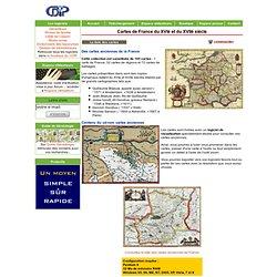 Cartes de France du 16° et du 17° siècle