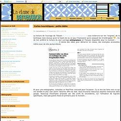 Cartes heuristiques : biblio