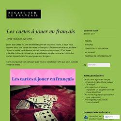 Les cartes à jouer en français