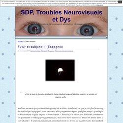 SDP, Troubles Neurovisuels et Dys » Cartes mentales