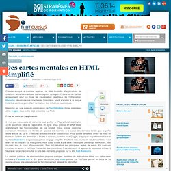 Des cartes mentales en HTML simplifié