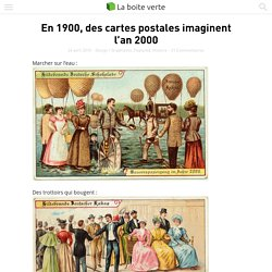En 1900, des cartes postales imaginent l'an 2000