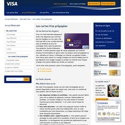 Les cartes Visa prépayées