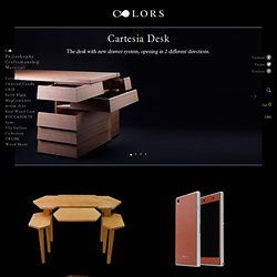 Cartesia Desk Tamo Tree - COLORS