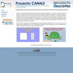 Proyecto Canals - Canales cartesianos hacia el conocimiento de las matemáticas