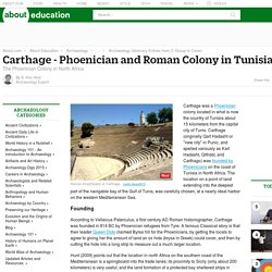 Carthage - Phoenician and Roman Colony in Tunisia