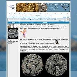 Monnaie carthaginoise (suite de mon incursion en Afrique)