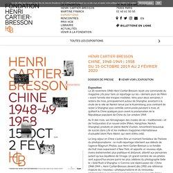 Henri Cartier-Bresson - Fondation Henri Cartier-Bresson